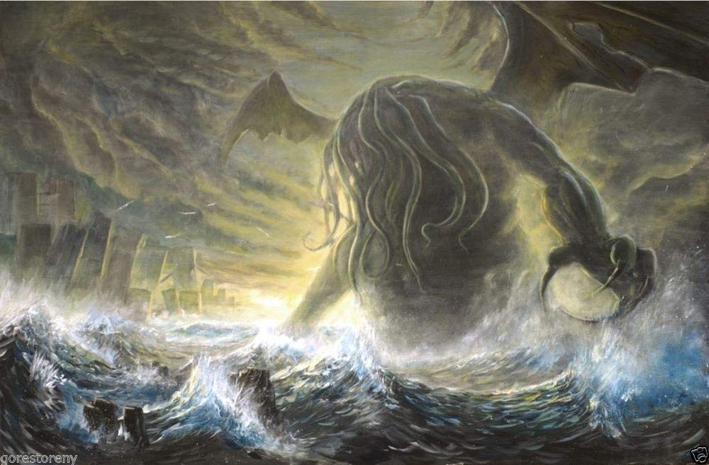Amazon.com 72785 H.P. Lovecraft Art Cthulhu Mythos