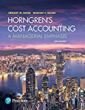Horngren's Cost Accounting Plus MyLab Accounting