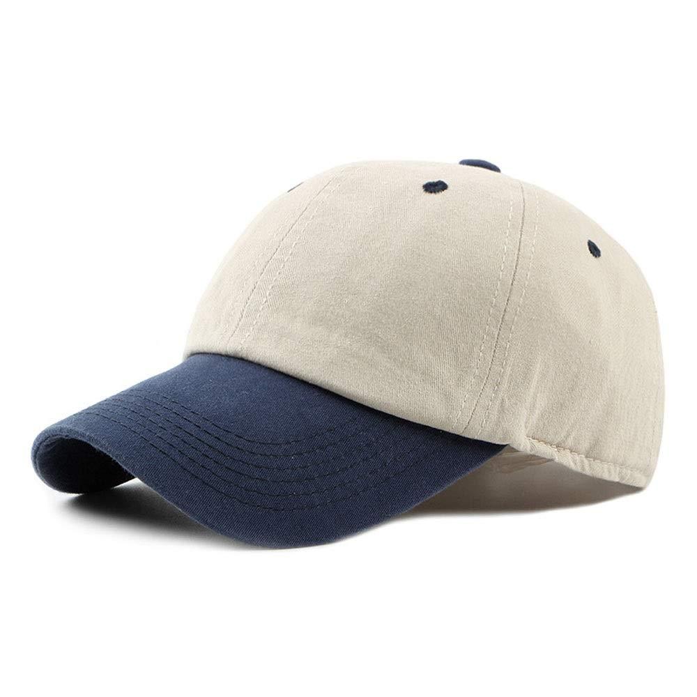 CP & YR Gorra de béisbol universal primavera, verano, con costuras ...