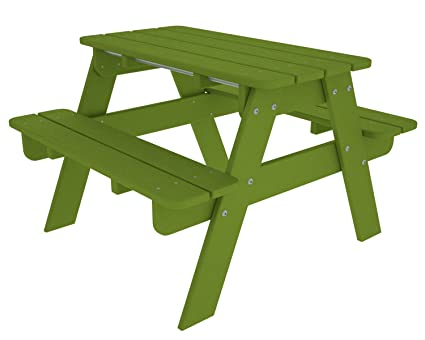 Outstanding Polywood Outdoor Furniture Kid Picnic Table Lime Recycled Plastic Materials Squirreltailoven Fun Painted Chair Ideas Images Squirreltailovenorg