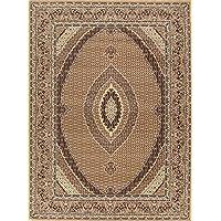 Rug Source Geometric 10x13 Bidjar Persian Traditional Area Rug for Living Room (13 4 x 9 9)