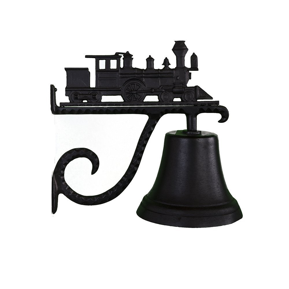 Montague Metal Products Cast Bell with Black Train CB-1-12-SB