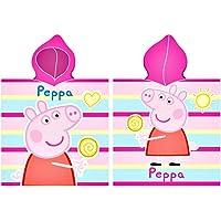 Oeko-Tex Poncho Peppa Pig Toalla - Capa