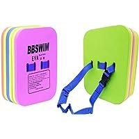 SWZY Schaum Zurück Schwimm Board Kickboard Trainingshilfe mit Schnalle Gürtel für Kind Erwachsene Schwimmen Anfänger