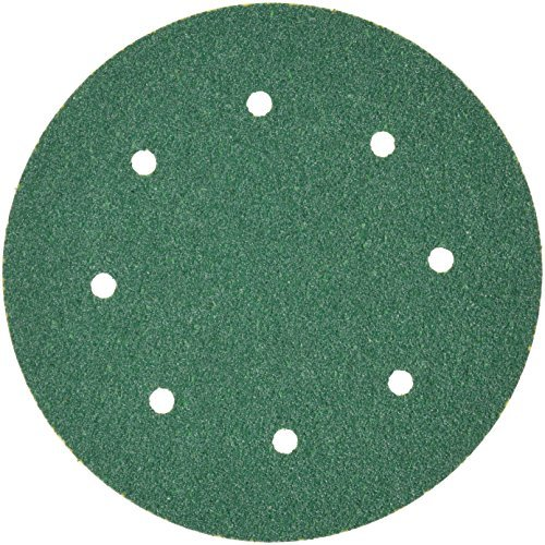 3M 01661 Green Corps Stikit 8'' 36E Grit Dust-Free Production Disc