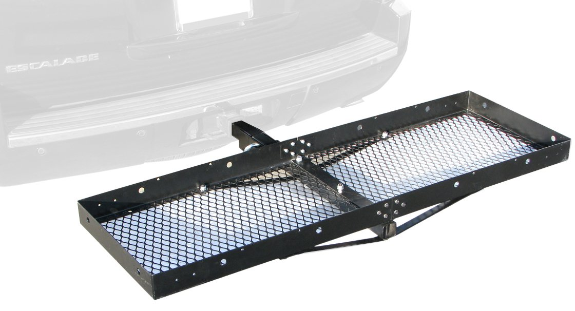Paramount Restyling 7701 Folding Hitch Mount Cargo Basket for 2'' Hitch Receivers