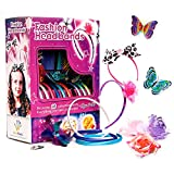 Toys : Fashion Headbands for Girls - 60 Pcs DIY Satin Women Girl Jewelry Making Kit - Hair Accessories Flowers Rhinestones Roses Butterfly Arts Crafts for Girls - Make Your Own Headbands