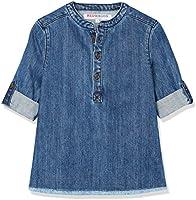 RED WAGON Camisa Vaquera para Niños, Azul (Blue), 7 Años
