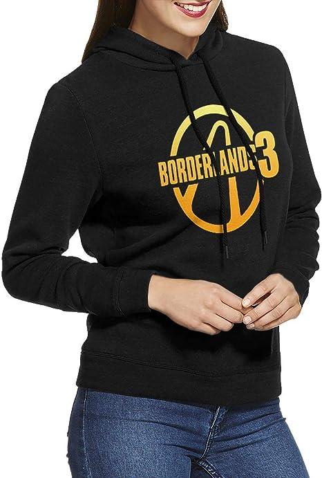 HelplesS Borderlands 3 Fashion Womens Hoodie Black
