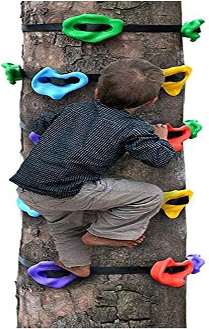 HSJCZMD - Escalera de pared para niños para escalada al aire ...