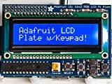 Adafruit Blue&White 16x2 LCD+Keypad Kit for Raspberry Pi [ADA1115]