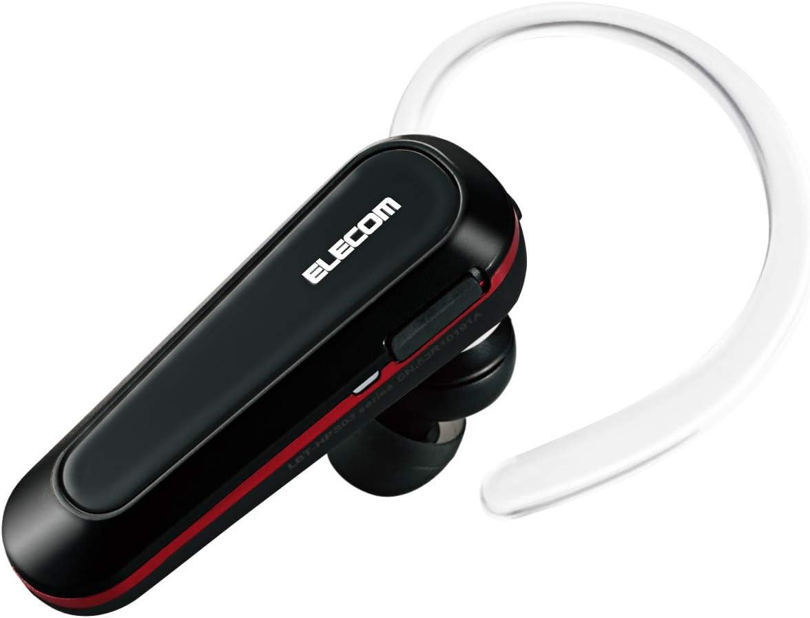 エレコム ヘッドセット Bluetooth LBT-HPS03PCBK