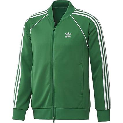 Adidas SST TT Sudadera, Hombre, (Verde), S