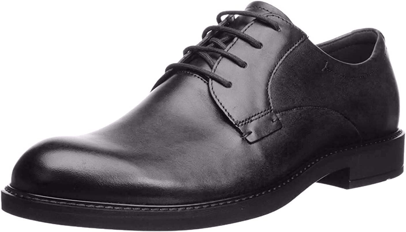 Ecco Mens Shoes Vitrus III 640504 Casual Smart Lace-Up Derby Leather