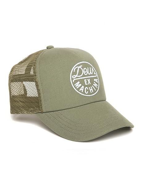 Deus ex machina - Cappellino da baseball - Uomo verde oliva Taglia unica 6cb3cd4c9431