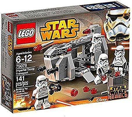 LEGO STAR WARS - Transporte de Tropas imperiales, Multicolor ...