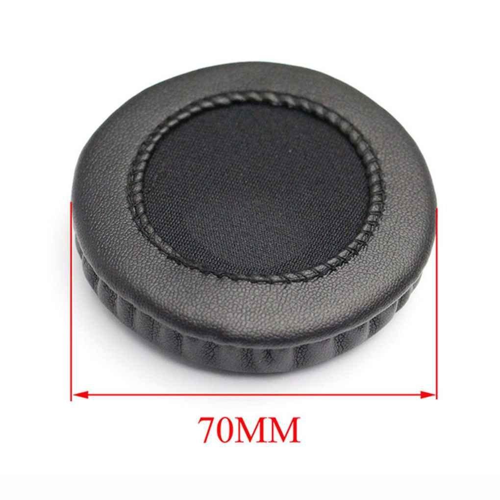 Bobury Universal PU Leather Earshield Cushions Sponge Headphone Cup Pads Cover Headset Earcaps Portable Dustproof
