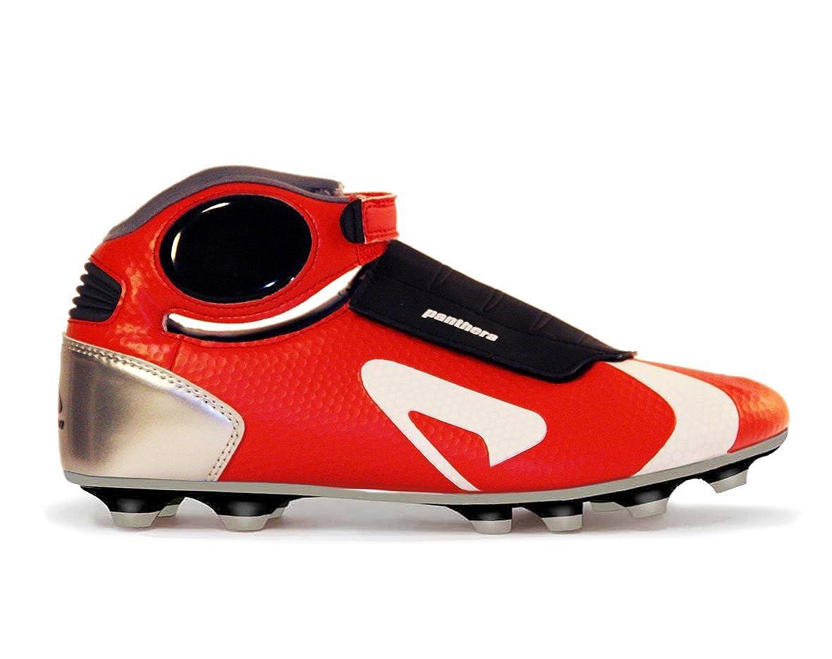 Panthera ROT Fire Fußballschuhe, Gr.-43 EU, Rot