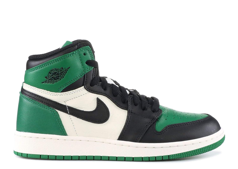 Air Jordan 1 Retro High OG (GS) 'Pine Green' 575441 302