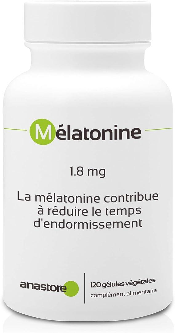 MELATONINA * 1.8 mg / 60 dosis * Sueño * Garantía de satisfacción o reembolso * Fabricado en Francia: Amazon.es: Salud y cuidado personal
