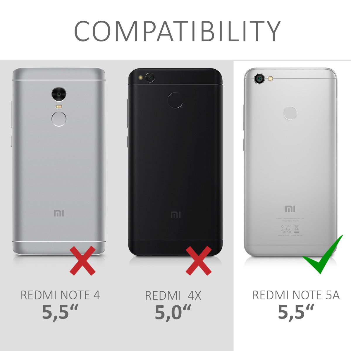 kwmobile Funda para Xiaomi Redmi Note 5A (4G): Amazon.es: Electrónica