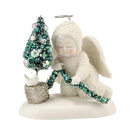 Department 56 Snowbabies Dream Little Garden Angel Figurine, 3.75 inch