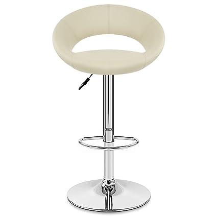 Astonishing Amazon Com Vuhom Breakfast Bar Stool With Backrest Faux Short Links Chair Design For Home Short Linksinfo