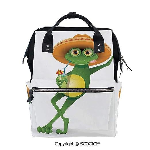 Amazon.com | SCOCICI Large Couple Backpack handbag, Serene ...