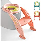 Potty Training Toilet Seat with Step Stool Ladder for Kids Girls Boys Baby and Children- AISIMEE Toddlers Toilet…