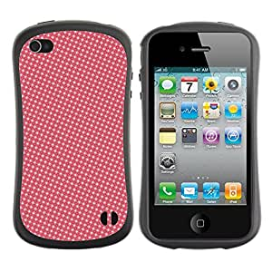 DesignCase Premium TPU / ABS Hybrid Back Case Cover Apple iPhone 4 / 4S ( amazing pattern )