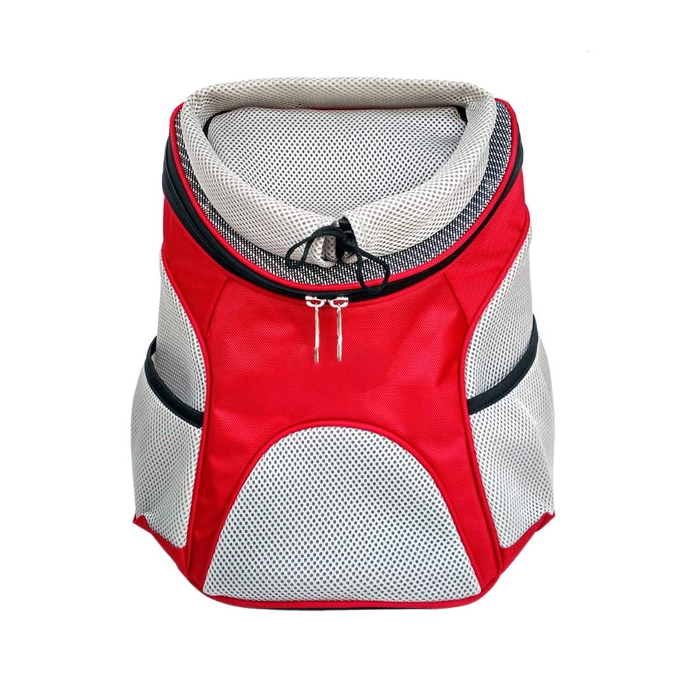 Red S red S Xiao Mi Guo Ji Pet travel bag, travel transport pet bag, portable pet out device, cat bag dog bag, fashion series backpack Cat and dog backpack (color   Red, Size   S)
