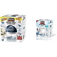 Rubson Aero 360 450 G deshumificador que limpia el aire, el olor y evita el moho & Aero 360º Baños Deshumidificador para…