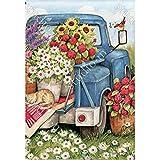 Magnet Works, Ltd. Flower Pickin' Time BreezeArt Garden Flag