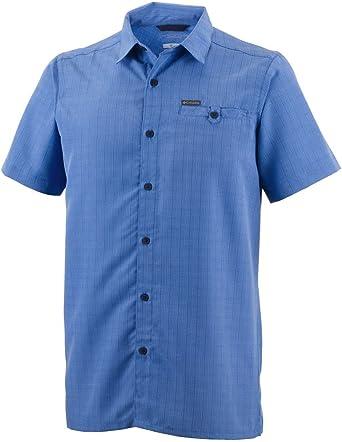 Columbia Declination Tra Camisa Manga Corta con Protección Solar 25, Hombre: Amazon.es: Ropa y accesorios