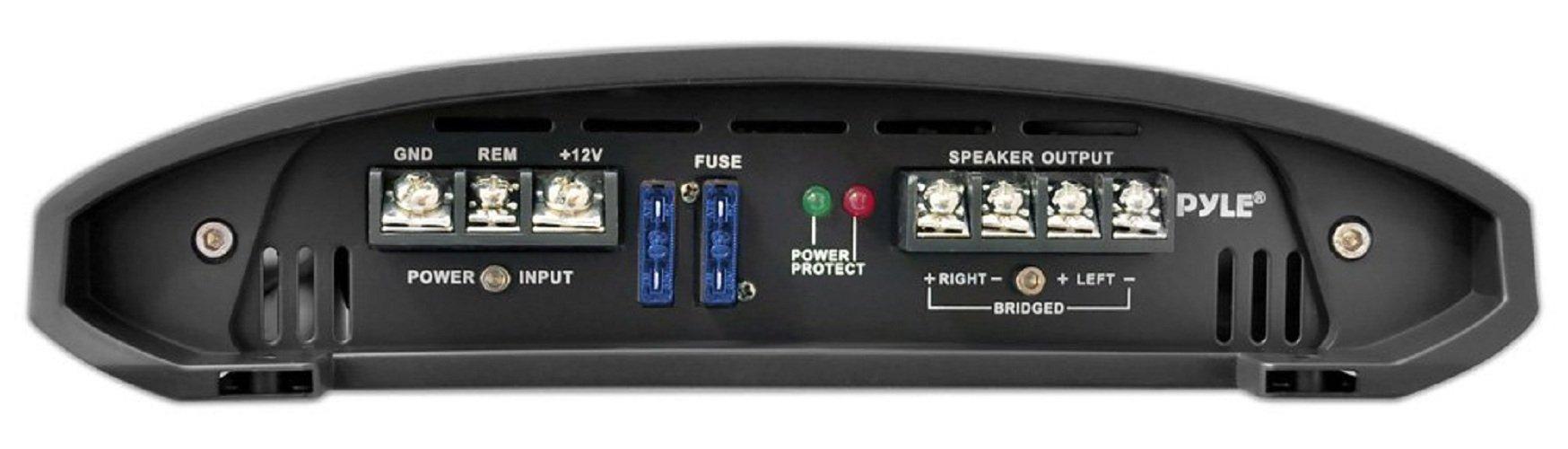 Pyle PLAM1600 1600 Watts 4 Channel Bridgeable Amplifier