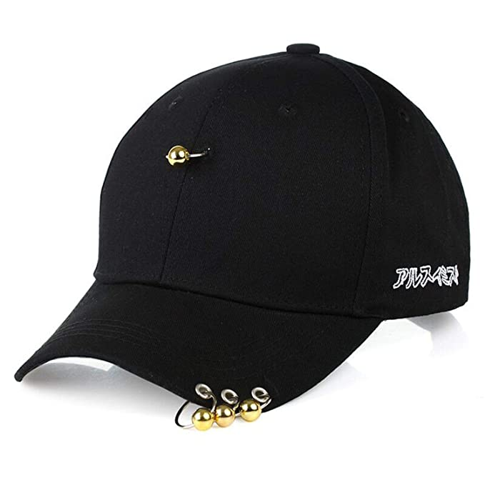 200e6aa16 2019 Bigbang Fashion Kpop Iron Ring Ball Hats Adjustable Baseball ...