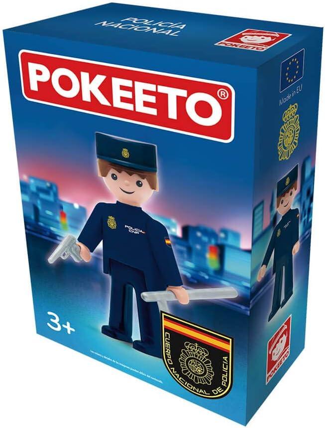 Pokeeto Policía Nacional, Multicolor, Talla Única (12647): Amazon.es: Juguetes y juegos