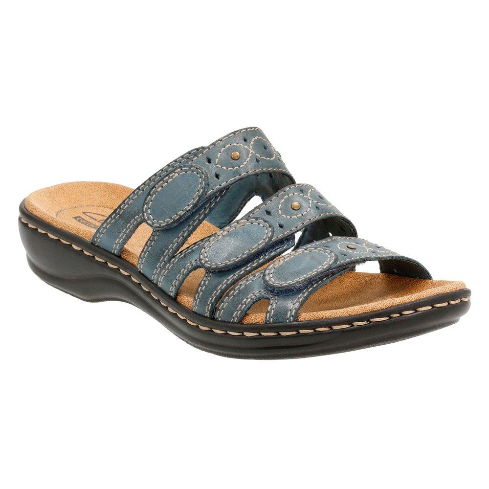 bluee Clarks Women's Leisa Cacti Q Flat Sandals