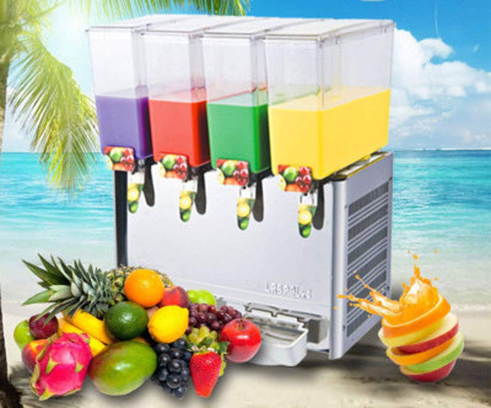 CGOLDENWALL Stainless Steel Beverage Machine Commercial Automatic Juice Dispenser Cold&Hot Drink Machine Cold Beverage Machine Beer Machine 9L Double/Three/Four Tanks (Single Cold, Three Tanks) by CGOLDENWALL (Image #8)