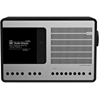 Revo SuperConnect Multi-Format Deluxe Table Radio with DAB/DAB+/FM - Black/Silver
