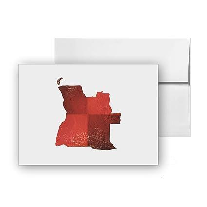 Amazon.com : Angola Africa Map-of-angola Luanda Geography, Blank ...