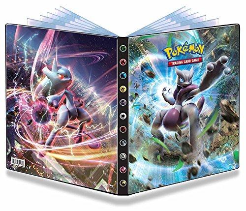 (Ultra Pro Pokemon Card 9 Pocket Binder Album Portfolio Breakthrough Featuring Mega Mewtwo X & Y)