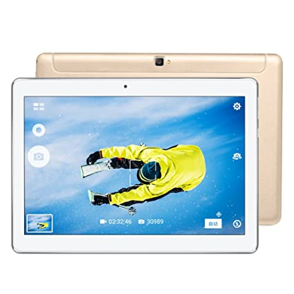 Beautyrain 10.1 Pulgadas Tablet 2 + 32G Android 7.0 Soporte para ...