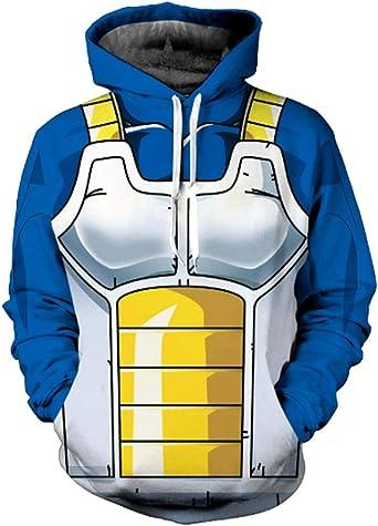 WEEKEND SHOP 3D Anime Hoodie Super Print Hoodie Mens Sweatshirt 3D Hoodie Pullover Men