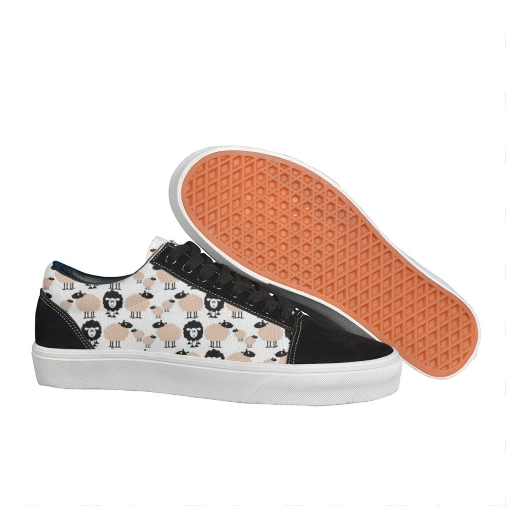 Armsttm Womens different sheep Classic Suede Skate Shoes Sneaker