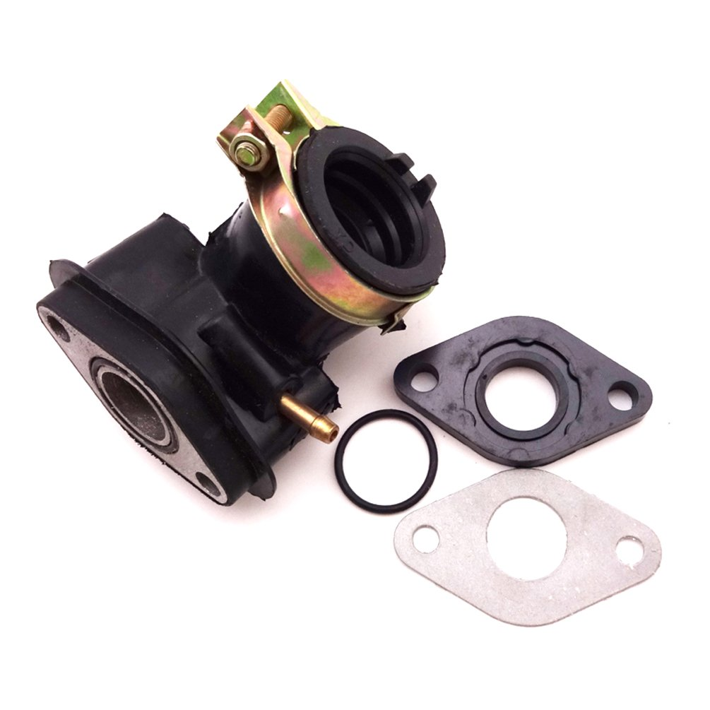 Carburetor Intake Manifold Inlet Pipe Gasket For GY6 50cc Gas Moped Scooter Bike