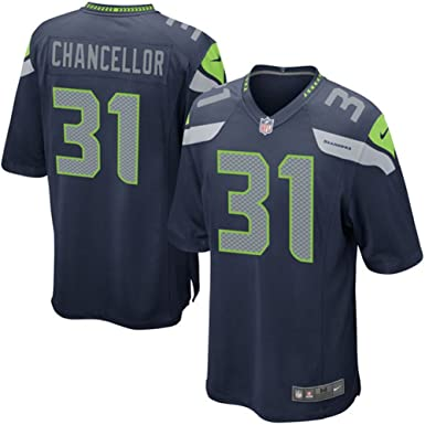 0a562a16d ... order seattle seahawks 31 kam chancellor football mens game jersey  white size xxxl56 6ad9d 7ba38