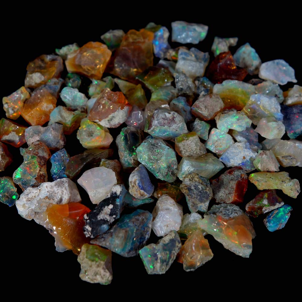 dadu_creation 100% NATURAL STUNNING EXCLUSIVE ETHIOPIAN OPAL ROUGH AMAZING LOT DADU-150