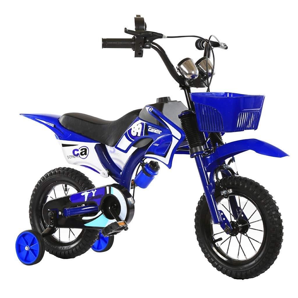 la mejor oferta de tienda online LJFYMX Bicicleta Bicicleta para niños 4-5-6-7-8 años 16 Pulgadas niño niño niño niña niño Cochecito 3 años Bicicleta niño 18 Bicicleta Pedal de Bicicleta ( Color   azul , Talla   A )  gran descuento