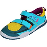 skoodo Kids Casual Sports Shoes (Boys and Girls 6-14 Years) - Angler Alpha - Sunshine Yellow | Teal